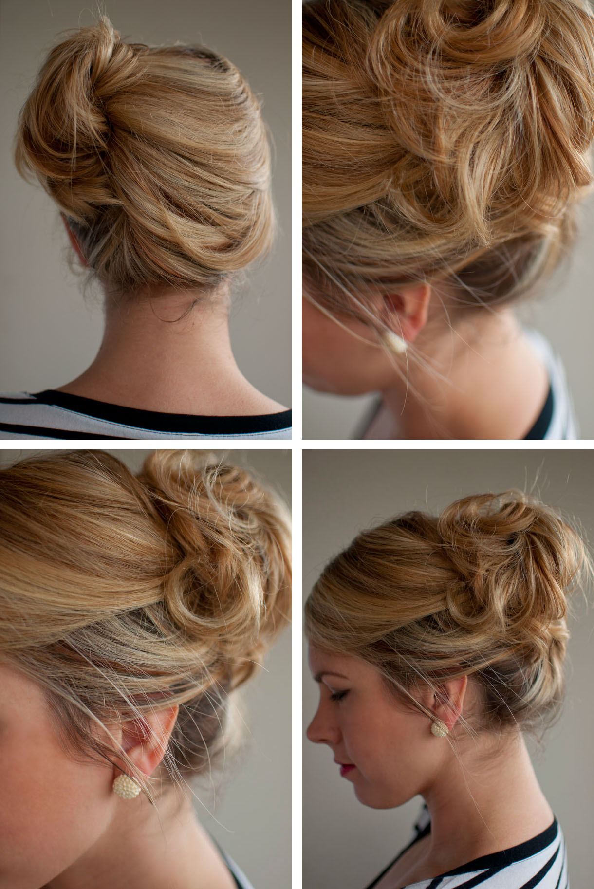Updo With Side Bang Hairstyles For Weddings
