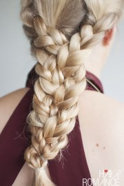 triple braid hairstyle tutorial