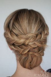 hairstyle - easy braided