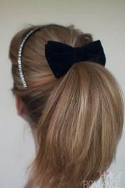 pretty ponytail hairstyle tutorial