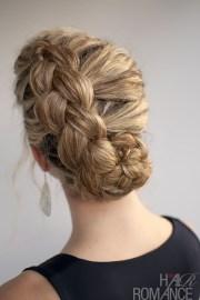hairstyle curly hair dutch