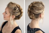 Updo Hairstyles For Short Hair With Braid