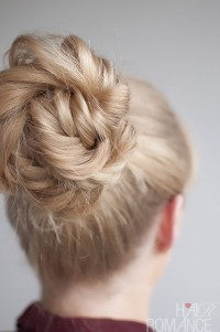 Hairstyle Tutorial - Fishtail Braided Bun - Hair Romance