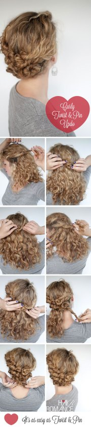 hairstyle tutorial - easy twist