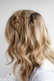 valentine's day hairstyle tutorial