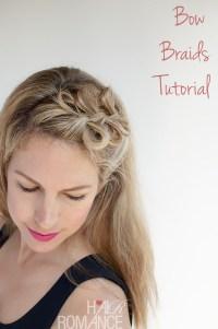 Bow Braids Hairstyle Tutorial - Hair Romance