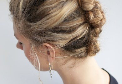 The French Roll Twist And Pin Hairstyle Hair Romance