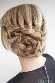 curved lace braid hairstyle tutorial