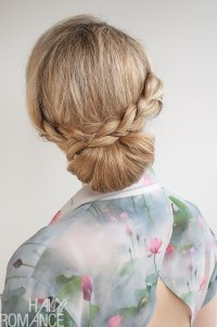 Hair Bun With Braid | www.imgkid.com - The Image Kid Has It!