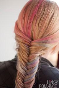 Hairstyle Tutorial: How to do a fishtail braid - Hair Romance