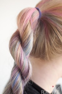Hairstyle tutorial  how to do a rope twist braid   Hair ...