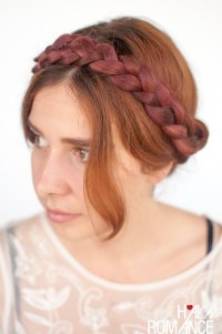 Modern Milkmaid Braids Hairstyle Tutorial - Hair Romance