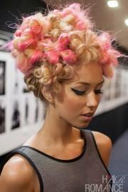 big hair friday - flowers