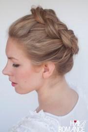 braid tutorial - high braided