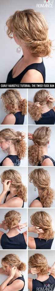 curly hairstyle tutorial