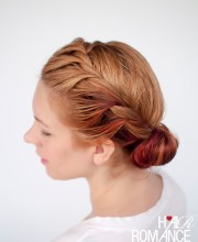 ready fast with 7 easy hairstyle