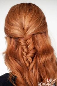 Hair Romance TV - Fishtail braid tutorial - Hair Romance