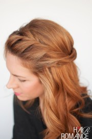 twist - easy hairstyle