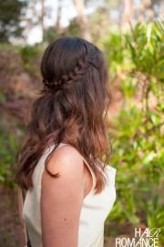 diy bridal beauty - bohemian