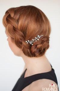 Braided Updo Hair Tutorial - Hair Romance