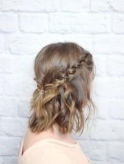 short hair hairstyles - braids