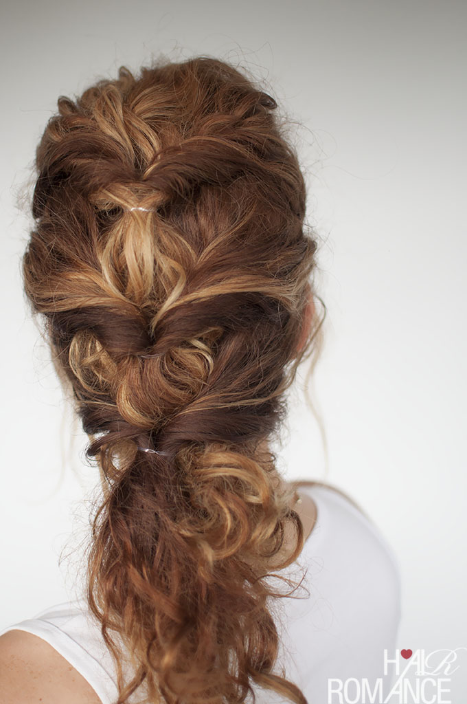 Easy Everyday Curly Hairstyle Tutorial The Curly Twist
