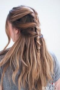 Loose French braid tutorial for long hair - health ...