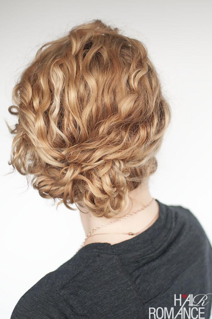 hair romance curly hair tutorial easy curly updo