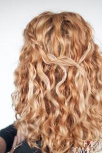 An easy half up braid tutorial for curly hair | Hair ...