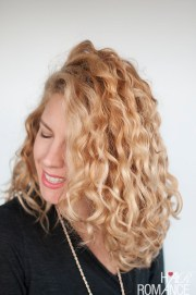 style curly hair frizz