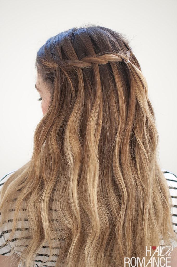Waterfall Mermaid Braid Tutorial For Long Hair Hair Romance