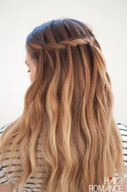 waterfall mermaid braid tutorial
