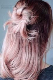 rose quartz hair pantone