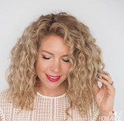 restyle curly hair fast