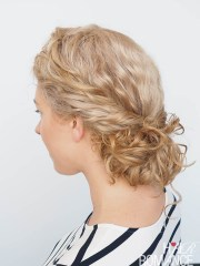 easy curly hairstyle tutorial