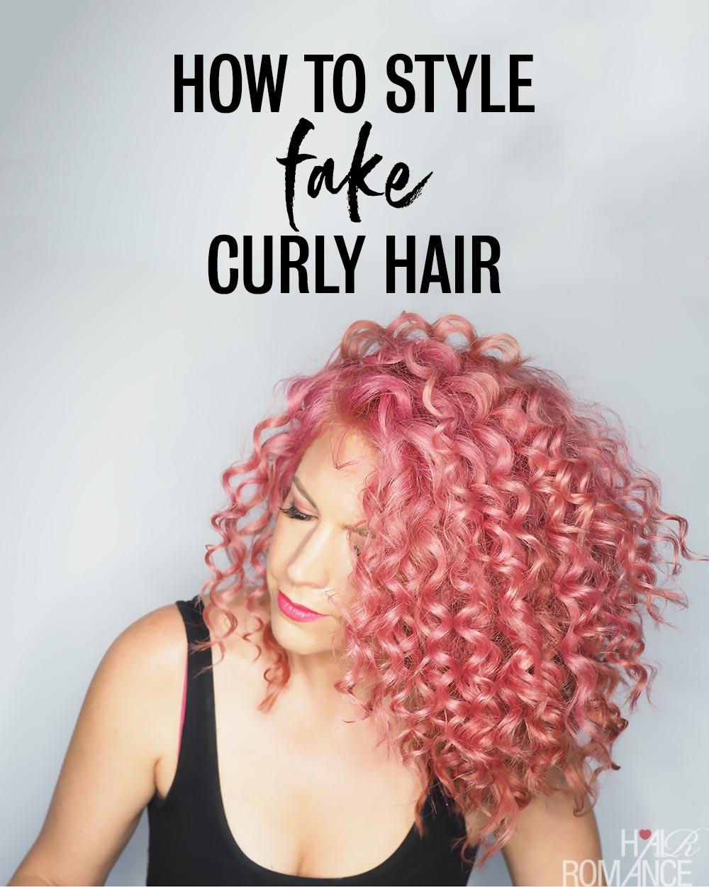 Fake Curls How To Get Hair That Looks Naturally Curly Hair Romance