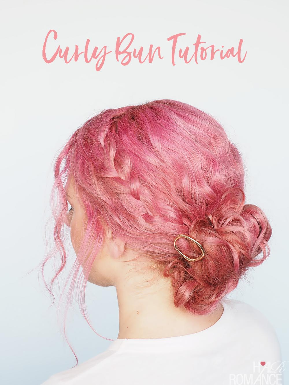 Quick And Easy Updo For Curly Hair Hair Romance