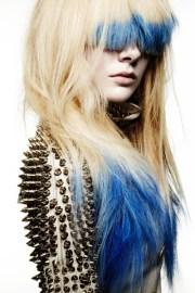 hair trend colour block