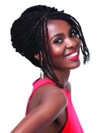 Royal Silk Afro Twist Braid