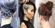 undercut hair tattoo ideas