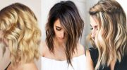 beachy waves with ombre color
