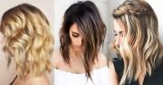 beach wavy hairstyles medium