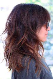 chic medium length layered haircuts