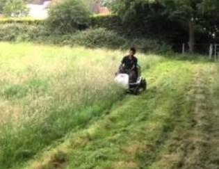 Cutting Long Grass