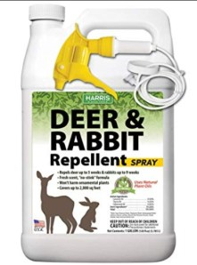 natural repellent for deer