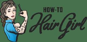 how to hair girl logo