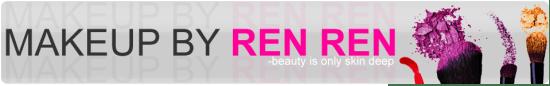 makeup by ren ren blog logo