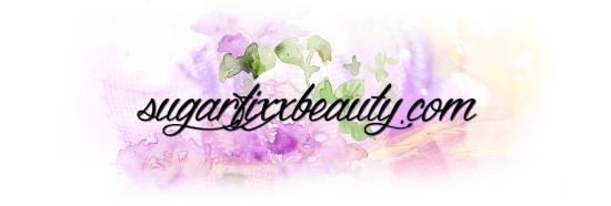 sugarfixxbeauty dot com banner logo