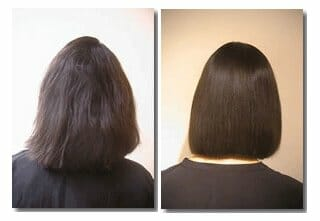 Thermal straightening for african american hair