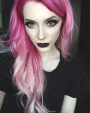 pink hair color ideas cute